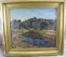 Bahl Reinhold Danzig 1869-1943 Gemälde Landschaft