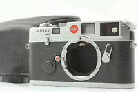 【MINT Yr 1992】 Leica M6 Non TTL 0.72 Silver 35mm Film Camera w/ Case From JAPAN