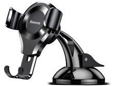 Baseus 360° Universal Auto KFZ Halter Halterung Smartphone Car Mount Black