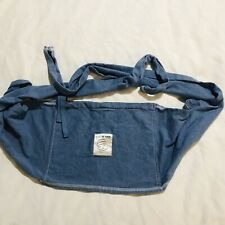 Blue Baby K'Tan baby carrier just the waist wrap around