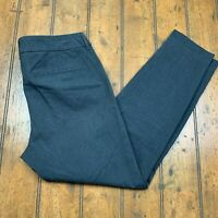 Old Navy Womens Pixie Ankle Chino Pants Size 6 Regular Heather Gray Stretch