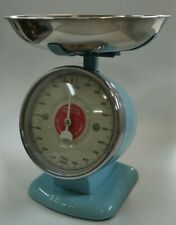 Dulton Kitchen Scales - Streamline Metal - Sax Blue