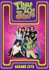 That 70s Show - Season 5 (Dvd, 2006, 4-Disc Set)