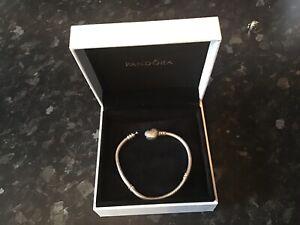Pandora Moments Silver Snake Charm Bracelet 175mm