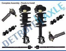 2001 - 2010 Chrysler PT Cruiser Front Struts Inner Outer Tie Rod Sway Bar Kit
