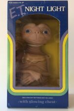 Vintage - E.T. Night Light - NEW - Glowing Chest - Extra Terrestrial - Speilburg