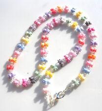 Gorgeous Handmade Sparkling Teddy Bear Necklace made with Swarovski Parts