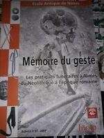 Mémoire du geste - Ecole Antique de Nîmes 2007