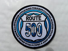 ROUTE 500 EMBROIDERED PATCH SET , NOT ROUTE 66