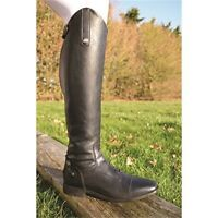 Mark Todd Sport Competition Field Boot Size 37 Black - Leather Boots Long Riding