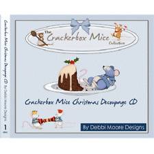 Debbi Moore Crackerbox Mice Christmas Decoupage CD ROM (296825)