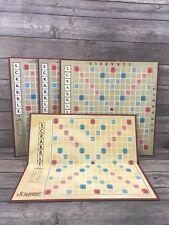 Lot of 4 Scrabble Boards Board Only Bundle