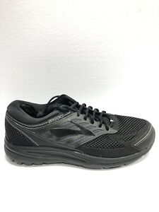 Brooks Men's Addiction 13, Black Running Shoes, Size 12.5, 4E.