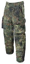 Esercito Tedesco BW KSK Camo pantaloni tasche laterali Flecktarn