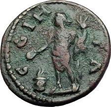 MACRINUS 217AD Parium Parion in MYSIA Authentic Ancient Roman Coin GENIUS i64835