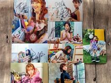 Signed TWICE autographed photo LIKEY 9 photos set K-POP 4*6 freeshipping112017