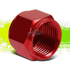 """RED 10-AN 5/8"""" TUBE SLEEVE NUT FITTING ADAPTER FOR ALUMINUM/STEEL TUBING LINE"""