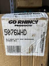 Go Rhino 5076WHD Push bumper Heavy Duty Wrap 2011-2012 Dodge charger