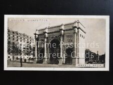 Single: MARBLE ARCH No.14 'SIGHTS OF LONDON' Ogden Cig Cards 1923