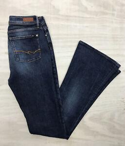 Tommy Hilfiger Paris Blue Denim Jeans, High Waist Flared Fit W29* L36 VGC