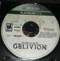 ELDER SCROLLS IV OBLIVION - XBOX 360 - GAME DISC ONLY - FREE S/H - (LL)