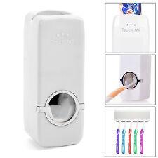Distributeur automatique de dentifrice porte brosse à dents Set Wall Mount DC