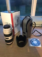 Canon EF 70-200mm f/2.8 L IS II USM Lens (with Case, Hood & Original Box)