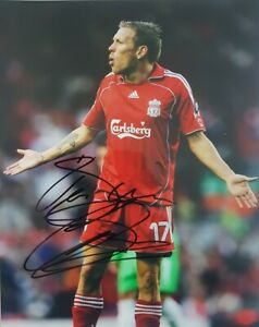 CRAIG BELLAMY LIVERPOOL WALES HAND  SIGNED 10x8 PHOTOGRAPH