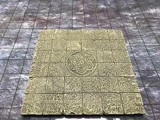 Dwarven Forge Master Maze Painted Resin 6 x 6 Floor Tile  D&D
