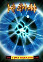 DEF LEPPARD 1992 / 1993 7-DAY WEEKEND WORLD TOUR CONCERT PROGRAM BOOK / NM 2 MNT