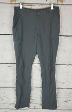 Columbia Hiking Pants Womens 8 Gray Nylon Outdoor Omniwick