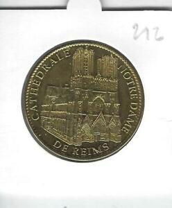 Médaille Souvenir 212 - 51 Reims Cathédrale Notre Dame , 2011, Arthus-Bertrand
