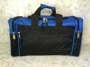 """Small Gym Bag Duffel Sports Workout Bag Travel Carry on Bag Athletic 17""""x10""""x9"""""""