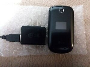 LG Flip Phone Model# LG238C Trackphone Wireless Comes with LG Power Source