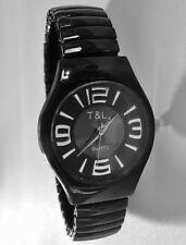 Analoge Markenlose Armbanduhren in Schwarz