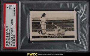1923 The Rocket Famous Knock-Outs Boxing Siki & Carpentier #1 PSA 7 NRMT