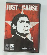 Just Cause for PC 2006 Eidos Avalanche Studios with Case, DVD-ROM Disc, Manual