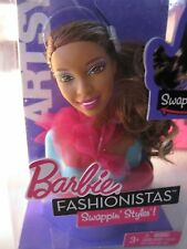 Mattel ~ Barbie Fashionistas Swappin' Styles Artsy Head 2010 3+ New MIB #T9123