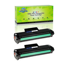 2 Pack MLT-D104S Black Toner For Samsung SCX-3200 3201 3205 3206 3207 3208 3210