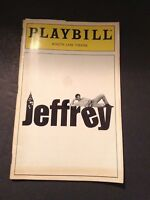 """Jeffery"" Theatre Playbill November 1993 At Minnetta Lane Theatre"