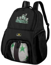 Michigan State Peace Frogs Soccer Backpack or NCAA Michigan State Volleyball Bag