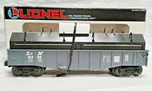 Lionel Louisvill & Nashville Gondola w/Coil Covers 6-16358 O and 027