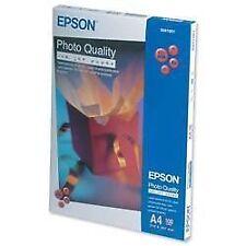 Epson Photo Quality Inkjet Paper Matt 104gsm Max1440dpi A4 Ref S041061 [100
