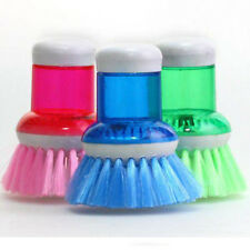Kitchen Scrubber Washing Hand Clean Brush Soap Dispenser Brush Dish Bowl Washer