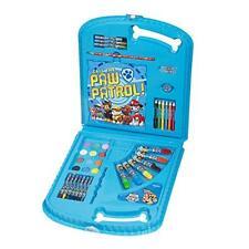 Paw Patrol Viaggio Cofanetto Da Disegno Giocattoli Kit Per Colorare Dei Bambini