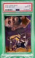 2000 UPPER DECK #189 KOBE BRYANT LAKERS HOF 🏦 PSA 10 🏦 POP 9