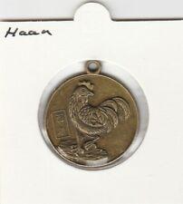 China medaille Dierenriem / Zodiac - Haan / Rooster