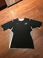 Nike Fit Dry Purdue Boilermakers Shirt Size Small Black, Gold And Gray
