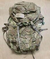 Original British Army Issue MTP Camo Multicam Long Back Bergen/Rucksack UK #664