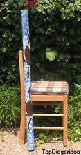 "47""120cm DIDGERIDOO Native Aboriginal Hand Paint Art + Bag + Beeswax Mouthpiece"